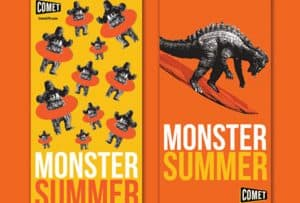 Monster Summer Giveaway! #MonsterSummer #CometTV