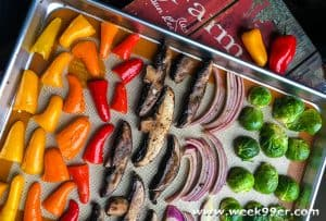 garden roasted veggies recipe