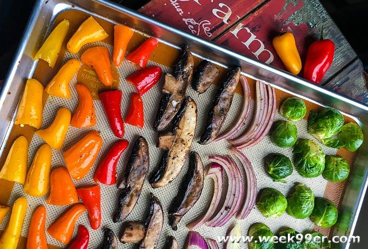 garden roasted veggies recipe