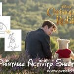 Winnie The Pooh Coloring Sheets and More! #ChristopherRobin