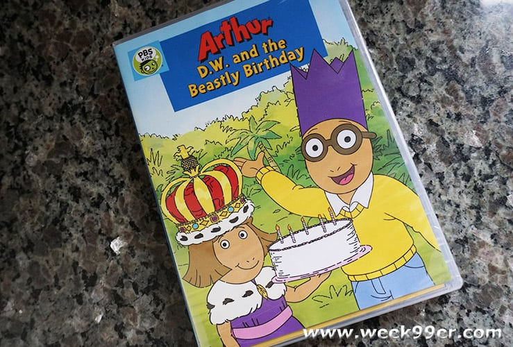ARTHUR: D.W. AND THE BEASTLY BIRTHDAY review