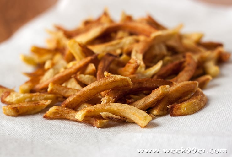 Make Your Own Crispy French Fries at Home
