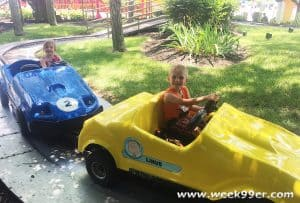 Top 4 Rides for Big Kids and Little Kids at Kings Island
