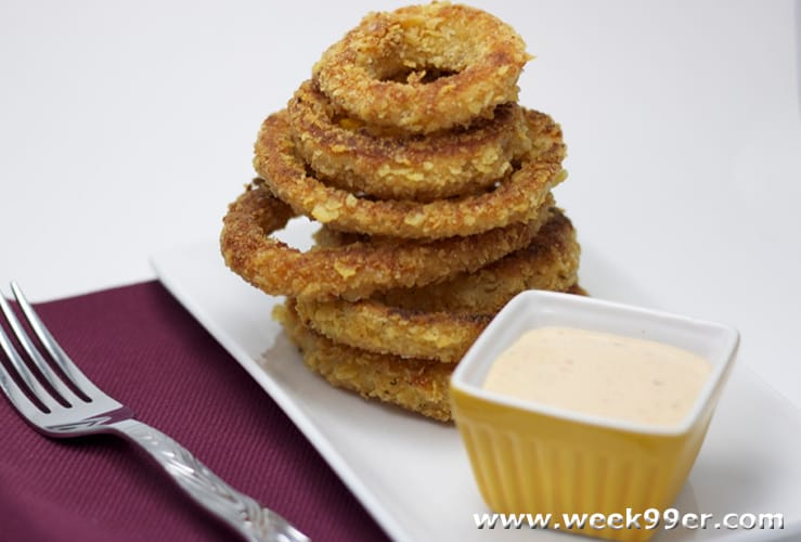 Oven Baked Onion Rings Recipe