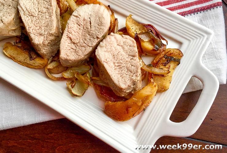 pork tenderloin with apples recipe