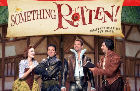 Get Your Tickets for Something Rotten! This Weekend! #BroadwayinDetroit