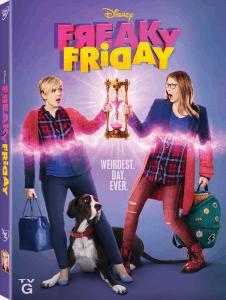 freaky friday musical dvd