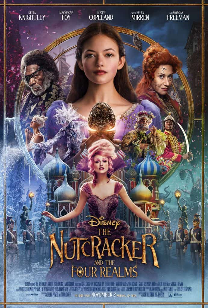 HE NUTCRACKER AND THE FOUR REALMS Poster