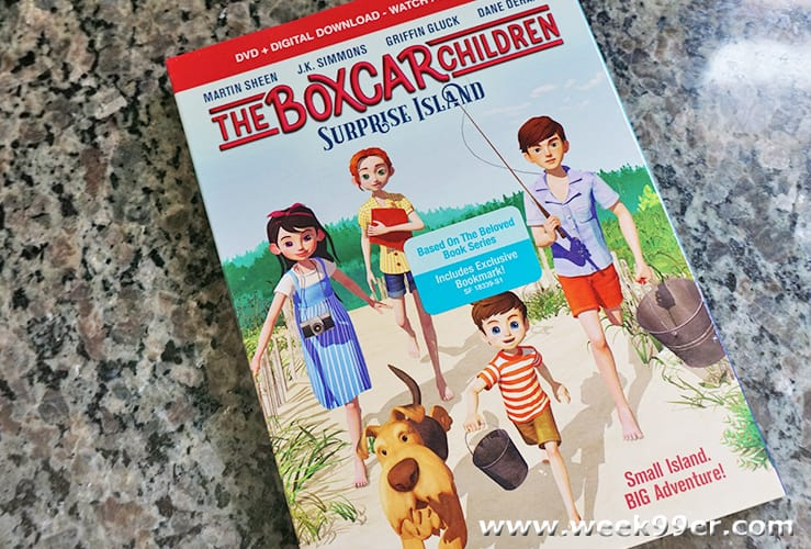 The Boxcar Children Surprise Island DVD Review