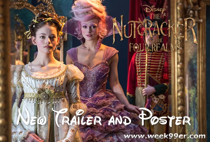 HE NUTCRACKER AND THE FOUR REALMS poster and trailer