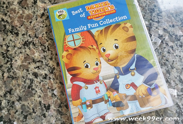 daniel tiger family fun collection review