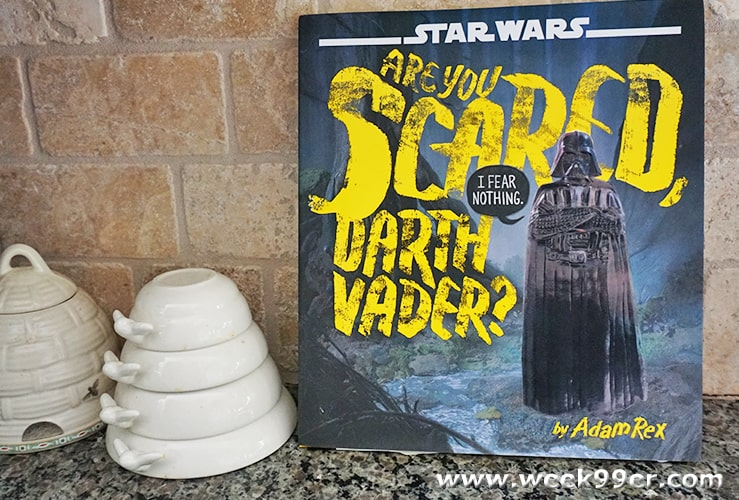 are you scared darth vader review