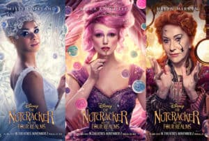 Disney's The Nutcracker and the Four Realms character posters