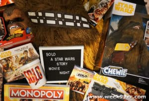 solo a star wars story movie night ideas