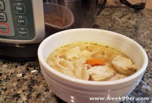 30 Minute From Scratch Chicken Soup + Mealthy Tools Giveaway! #MealthyMoms