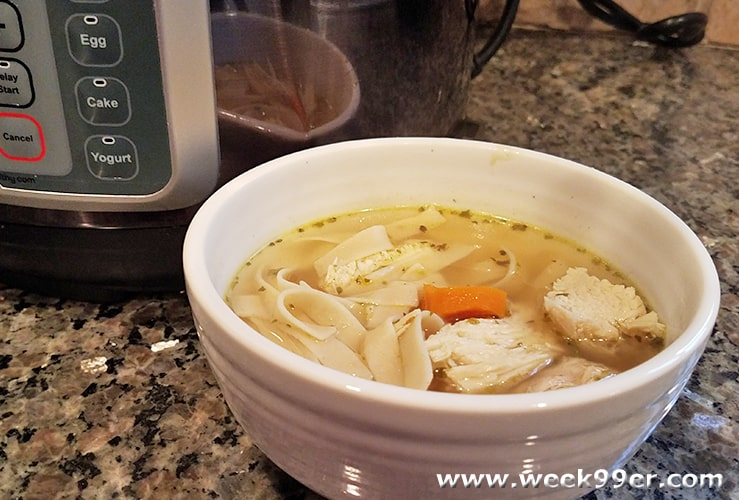 30 Minute From Scratch Chicken Soup + Mealthy Tools Giveaway!