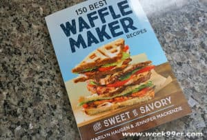 Take Your Waffles to the Next Level with this Cookbook