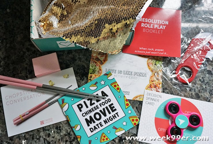 crated with Love Pizza Chinese Food Movie Night Review