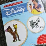 Combine Your Love for Disney with Arts and Crafts with this Fun Cross Stitch Book