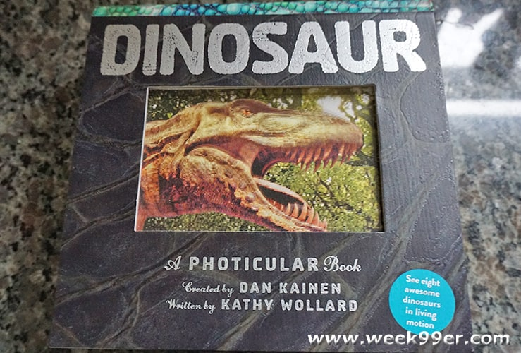 Dinosaur A photicular Book review