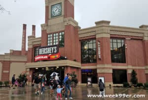 Hershey chocolate world