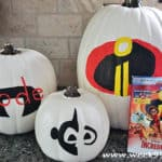 Have an Incredibles Halloween! Pumpkin Ideas, Activity Sheets and Where to Get the Movie! #Incredibles2 #Incredibles2Event