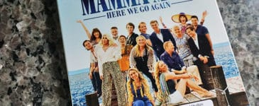 mamma mia! Here We Go Again Blu-Ray Review