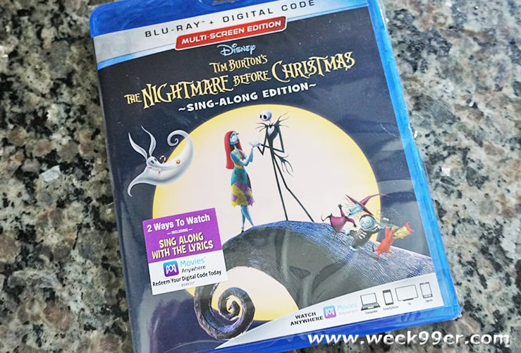 nightmare before christmas sing along edition review