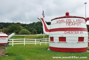 World's Largest Tea Pot West Virginia