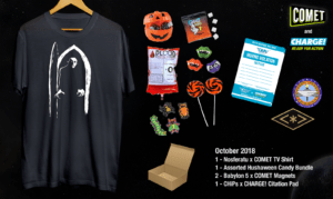 Comet TV and Charge Hushaween Unboxing and Giveaway! #CometTV #Hushaween