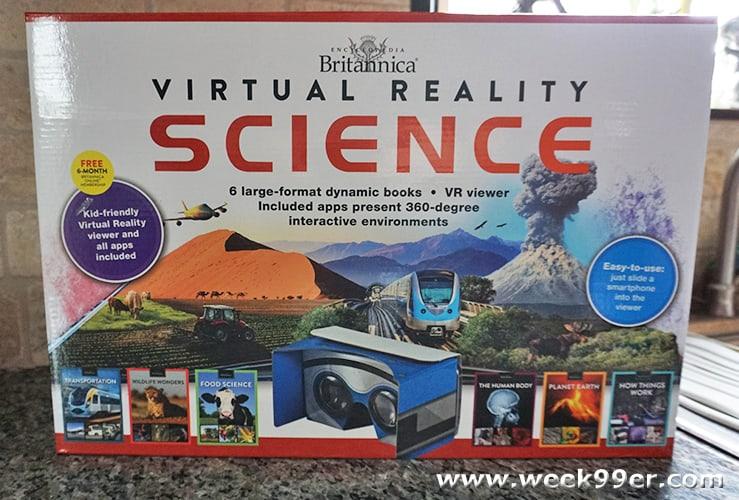 Encyclopedia Britannica Virtual Reality Set Review - Week 99er