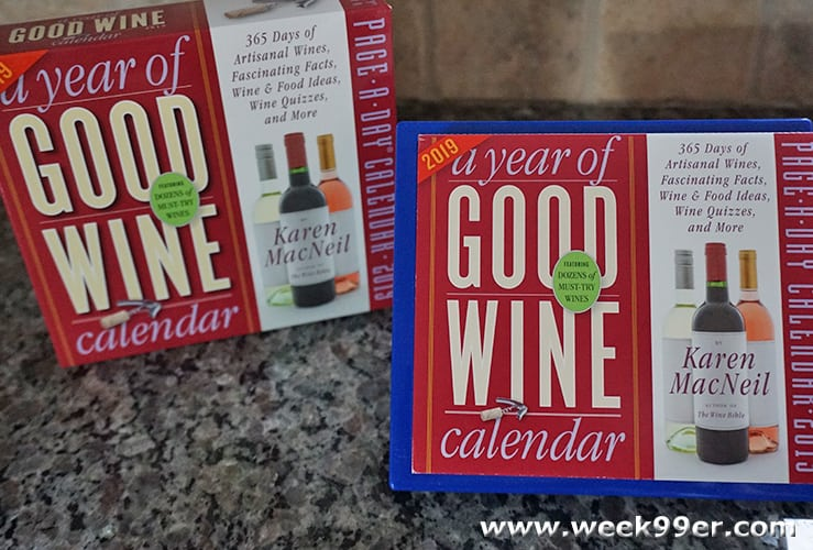 A Year of Good Wine Calendar Review