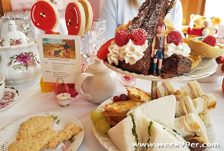 Christopher Robin Winnie the Pooh Tea Party Ideas
