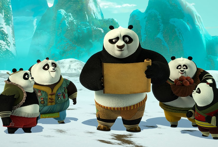 Kung Fu Panda: The Paws of Destiny is now on Amazon! #KungFuPanda