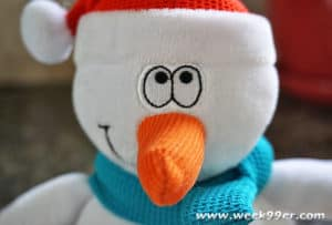 dolce snowman toy review