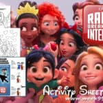 Printable Activity Sheets To Get You Ready for Ralph Breaks the Internet! #RalphBreaksTheInternet