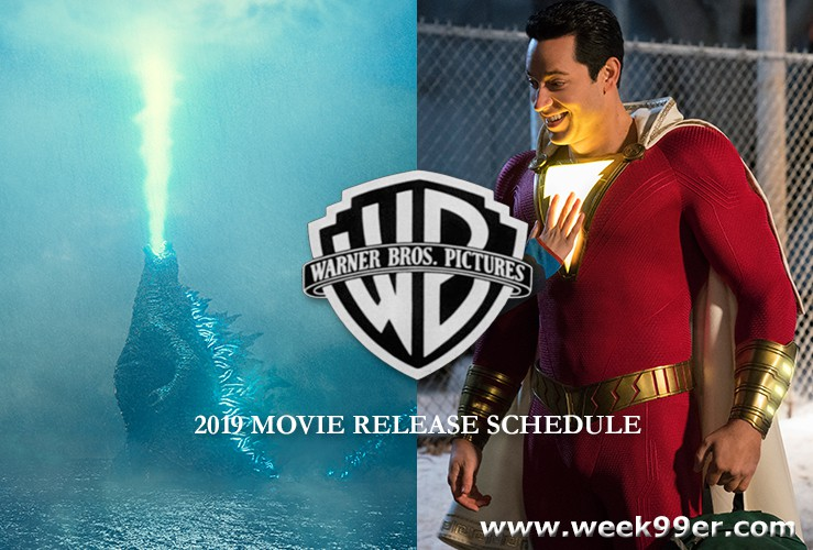 Warner Brothers Pictures 2019 Movie Release Schedule