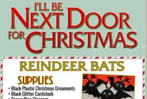 CHristmas Bat ornaments