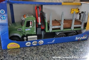 bruder mack lorry truck review