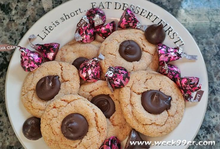 Strawberry Chocolate Kiss Cookies Gluten Free Recipe