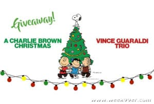 a charlie brown christmas record giveaway