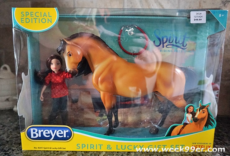 spirit riding free spirit and lucy special edition breyer review