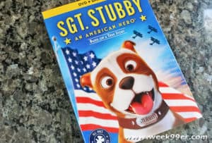 sgt stubby an american hero dvd review