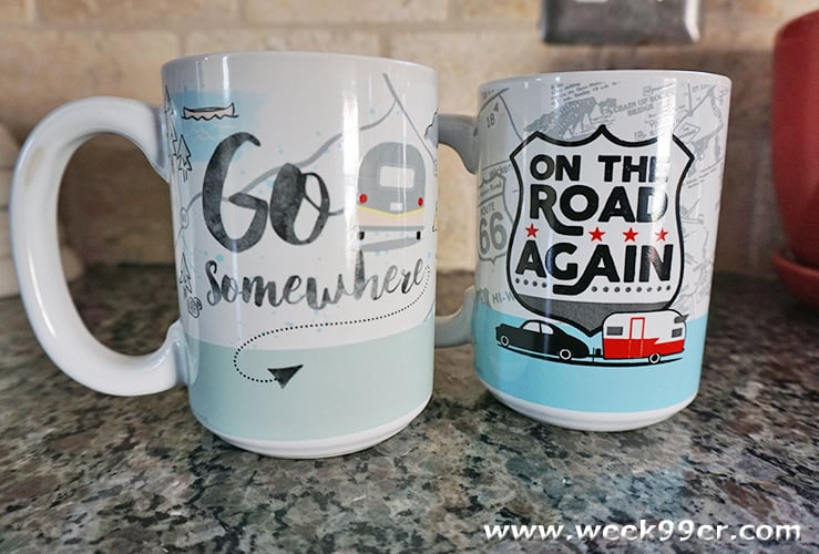 coffee mugs to inspire travel