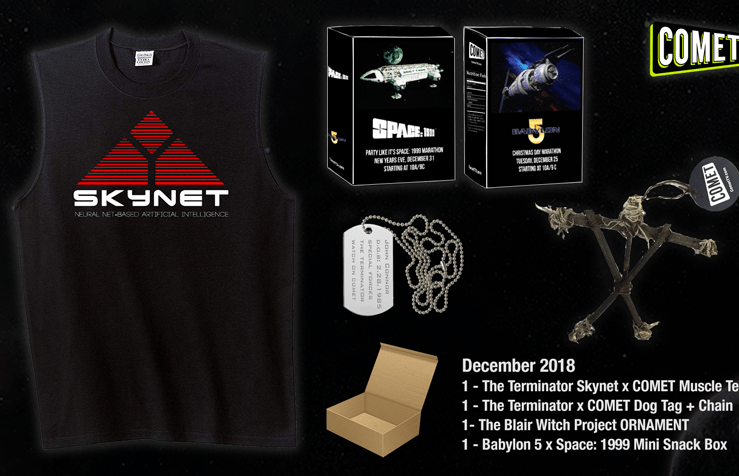 Enter to win a Terminator Prize Package from Comet TV!