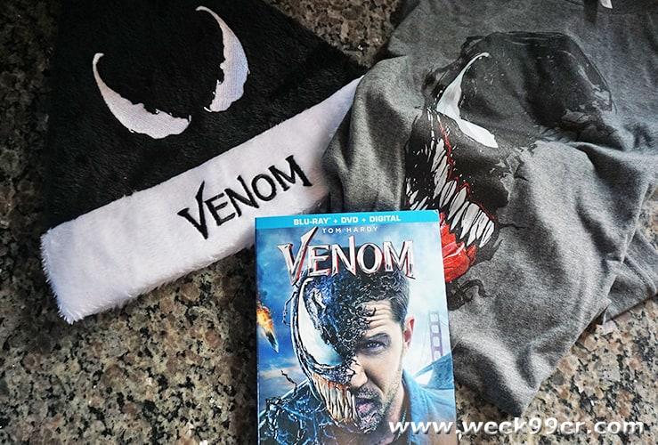 venom blu-ray giveaway