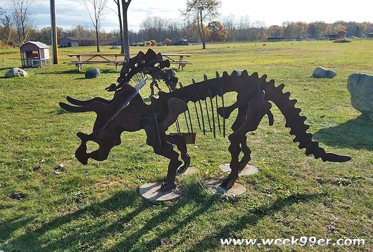 dinosaur farm coloma michigan