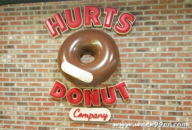 hurts donuts varieties