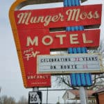 Discovering Route 66 and the Munger Moss Motel
