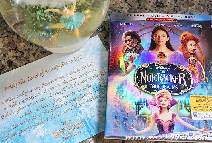 nutcracker and the four realms snow globe DIY